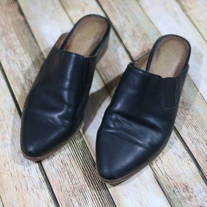 Madewell Lanna Mule Leather Shoes Slip On